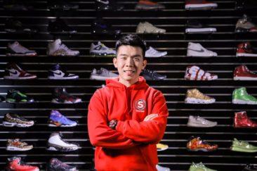 中國男子夏嘉歡賣球鞋|數位行銷