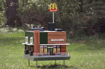 麥當勞推出麥蜂巢|廣告創意