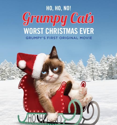 臭臉貓聖誕節版本|數位行銷
