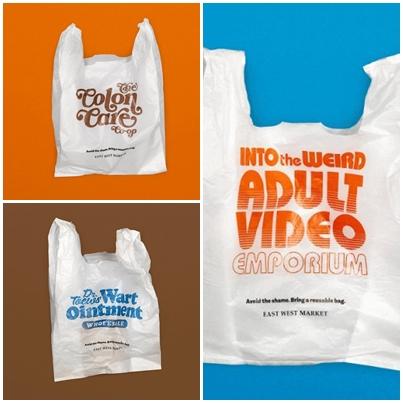 溫哥華商店推出黑色幽默塑膠袋|廣告創意