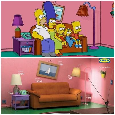 IKEA辛普森主題 廣告創意