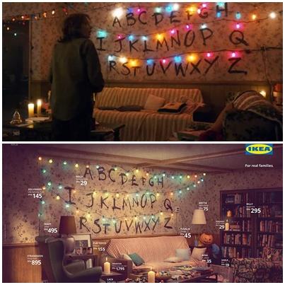 IKEA怪奇物語主題 廣告創意