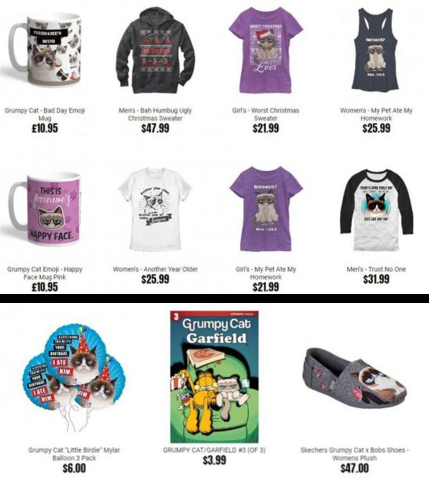 臭臉貓周邊商品|數位行銷