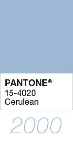 天空藍是千禧年的代表色,也是Pantone第一次發表年度代表色。/圖:Pantone.com
