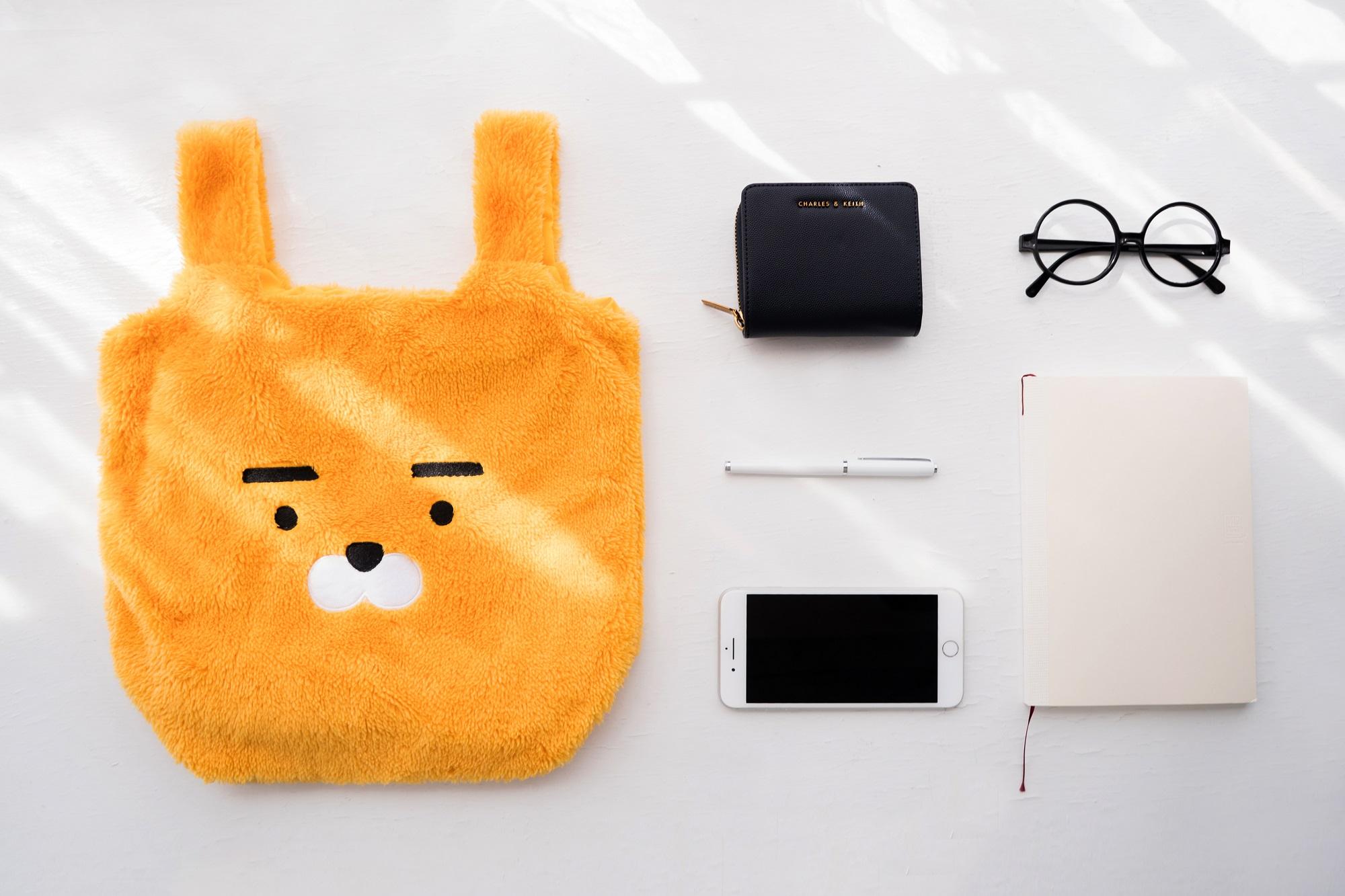 楽玩多為韓國知名角色 Kakao Friends 的 Ryan 商品規劃的情境照。/圖:Cyberbiz