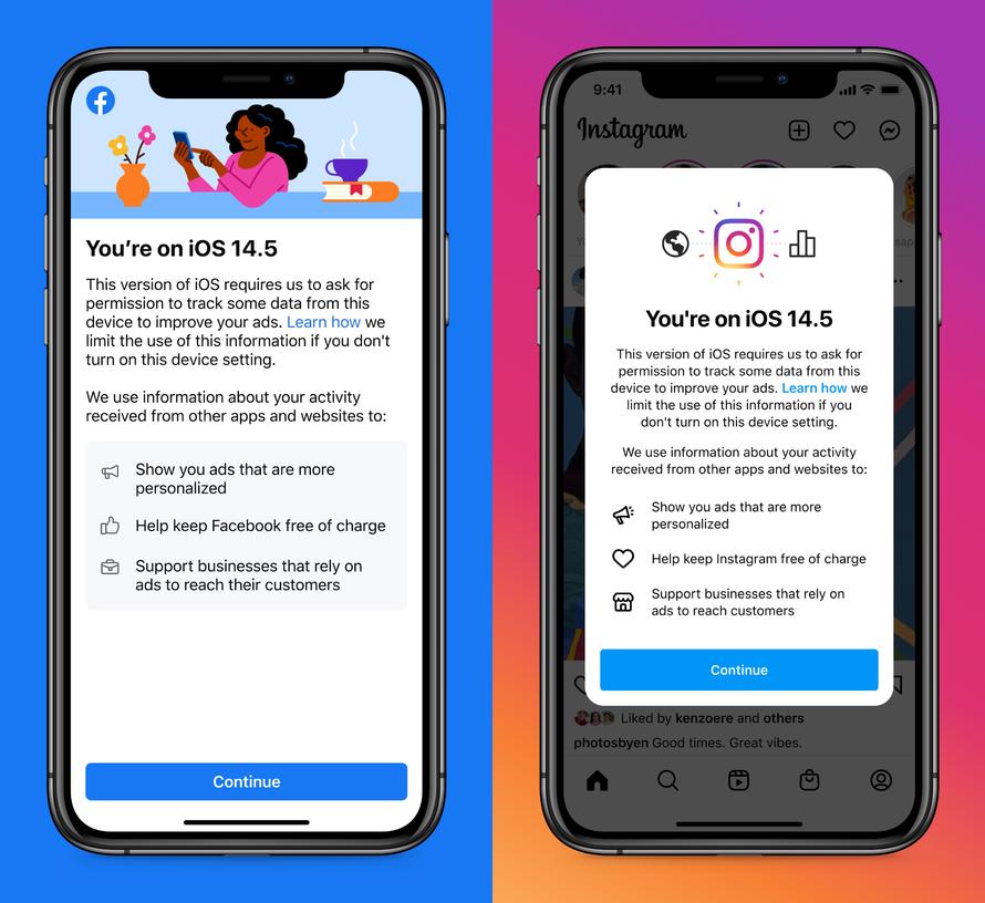 iOS14隱私政策FB通知