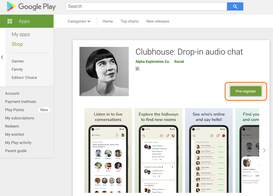 Clubhouse推出Android版APP