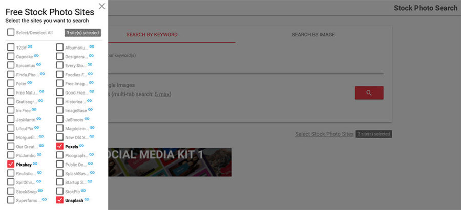 Mailtomix選擇免費圖片網站