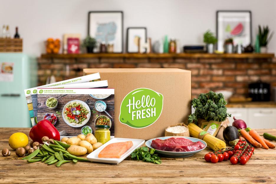 歐洲食品電商 HelloFresh