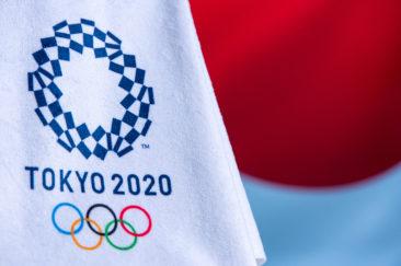 Tokyo,Japan 2020 Olympics Logo